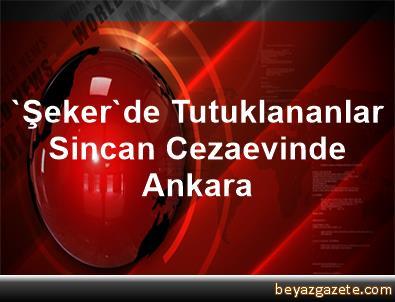 'Şeker'de Tutuklananlar Sincan Cezaevinde Ankara