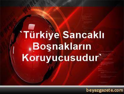 'Türkiye Sancaklı Boşnakların Koruyucusudur'