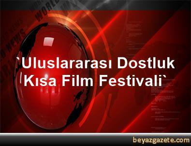 'Uluslararası Dostluk Kısa Film Festivali'