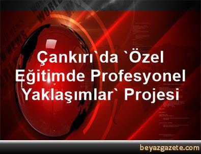 Çankırı'da 'Özel Eğitimde Profesyonel Yaklaşımlar' Projesi