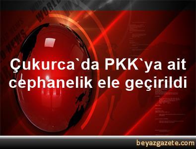 Çukurca'da PKK'ya ait cephanelik ele geçirildi