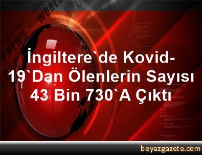 İngiltere'de Kovid-19'Dan Ölenlerin Sayısı 43 Bin 730'A Çıktı