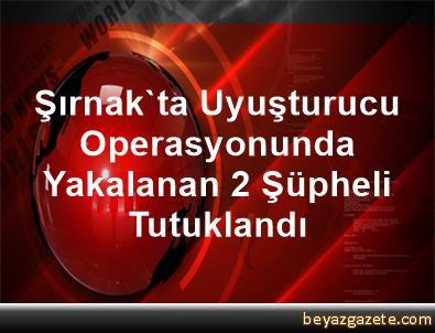 Şırnak'ta Uyuşturucu Operasyonunda Yakalanan 2 Şüpheli Tutuklandı