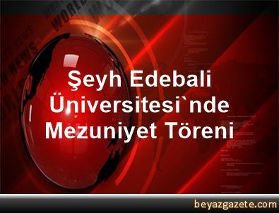Şeyh Edebali Üniversitesi'nde Mezuniyet Töreni