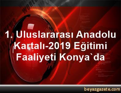 1. Uluslararası Anadolu Kartalı-2019 Eğitimi Faaliyeti Konya'da