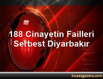 188 Cinayetin Failleri Serbest Diyarbakır