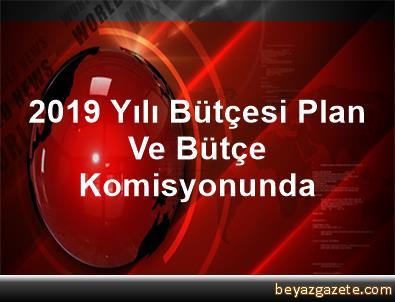 2019 Yılı Bütçesi Plan Ve Bütçe Komisyonunda