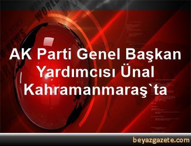 AK Parti Genel Başkan Yardımcısı Ünal, Kahramanmaraş'ta