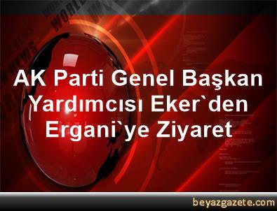 AK Parti Genel Başkan Yardımcısı Eker'den Ergani'ye Ziyaret