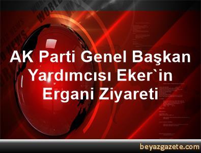 AK Parti Genel Başkan Yardımcısı Eker'in Ergani Ziyareti