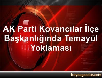 AK Parti Kovancılar İlçe Başkanlığında Temayül Yoklaması