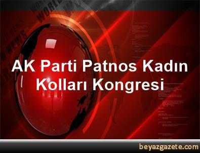 AK Parti Patnos Kadın Kolları Kongresi