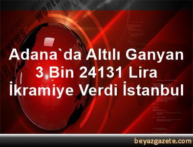 Adana'da Altılı Ganyan 3 Bin 241,31 Lira İkramiye Verdi İstanbul