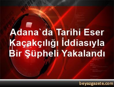 Adana'da Tarihi Eser Kaçakçılığı İddiasıyla Bir Şüpheli Yakalandı
