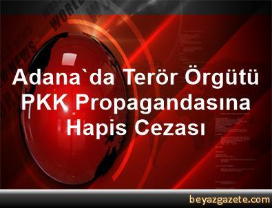 Adana'da Terör Örgütü PKK Propagandasına Hapis Cezası