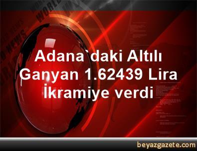 Adana'daki Altılı Ganyan 1.624,39 Lira İkramiye verdi