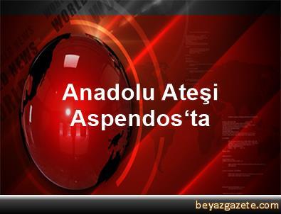 Anadolu Ateşi Aspendos'ta