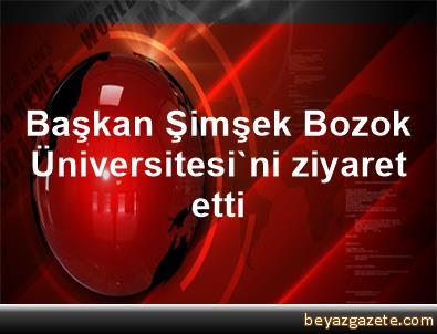 Başkan Şimşek Bozok Üniversitesi'ni ziyaret etti