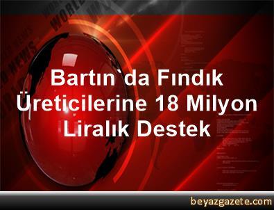Bartın'da Fındık Üreticilerine 18 Milyon      Liralık Destek