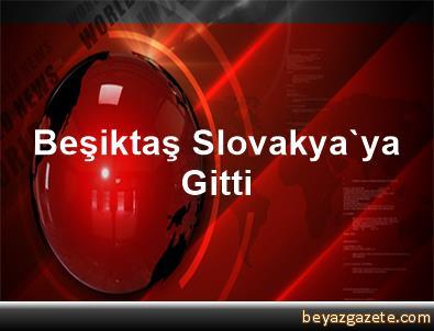 Beşiktaş, Slovakya'ya Gitti