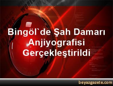 Bingöl'de Şah Damarı Anjiyografisi Gerçekleştirildi