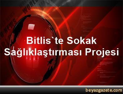Bitlis'te Sokak Sağlıklaştırması Projesi