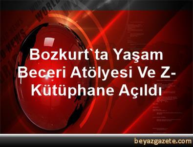 Bozkurt'ta Yaşam Beceri Atölyesi Ve Z-Kütüphane Açıldı