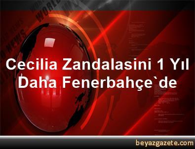 Cecilia Zandalasini 1 Yıl Daha Fenerbahçe'de