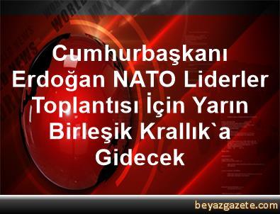 Cumhurbaşkanı Erdoğan, NATO Liderler Toplantısı İçin Yarın Birleşik Krallık'a Gidecek