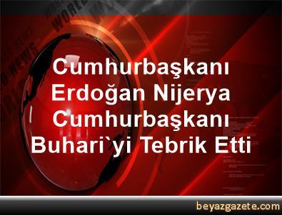 Cumhurbaşkanı Erdoğan, Nijerya Cumhurbaşkanı Buhari'yi Tebrik Etti