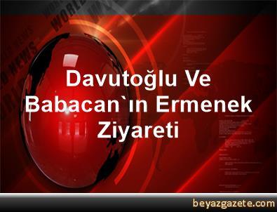 Davutoğlu Ve Babacan'ın Ermenek Ziyareti