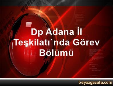 Dp Adana İl Teşkilatı'nda Görev Bölümü