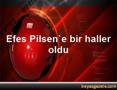 Efes Pilsen'e bir haller oldu