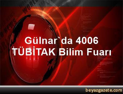 Gülnar'da 4006 TÜBİTAK Bilim Fuarı