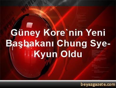 Güney Kore'nin Yeni Başbakanı Chung Sye-Kyun Oldu