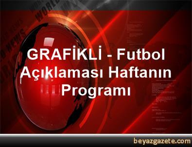 GRAFİKLİ - Futbol Açıklaması Haftanın Programı