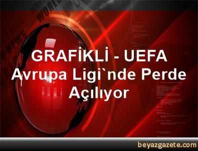 GRAFİKLİ - UEFA Avrupa Ligi'nde Perde Açılıyor
