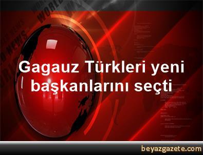 Gagauz Türkleri yeni başkanlarını seçti
