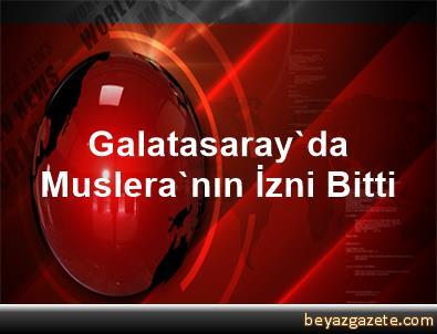 Galatasaray'da Muslera'nın İzni Bitti