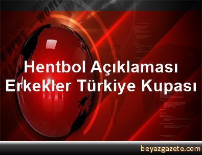Hentbol Açıklaması Erkekler Türkiye Kupası