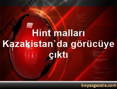 Hint malları Kazakistan'da görücüye çıktı