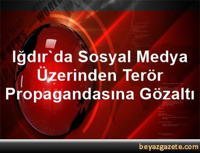 Iğdır'da Sosyal Medya Üzerinden Terör Propagandasına Gözaltı