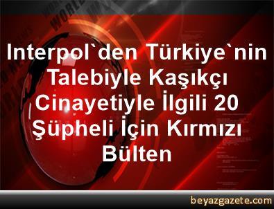 Interpol'den Türkiye'nin Talebiyle Kaşıkçı Cinayetiyle İlgili 20 Şüpheli İçin Kırmızı Bülten