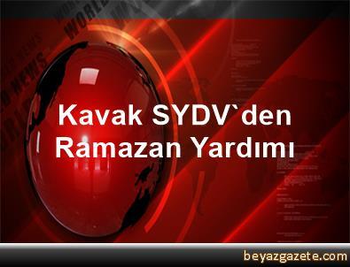 Kavak SYDV'den Ramazan Yardımı
