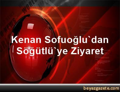 Kenan Sofuoğlu'dan Söğütlü'ye Ziyaret