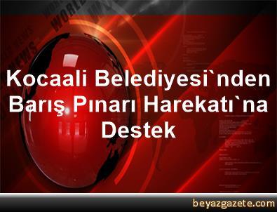 Kocaali Belediyesi'nden Barış Pınarı Harekatı'na Destek