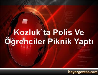 Kozluk'ta Polis Ve Öğrenciler Piknik Yaptı