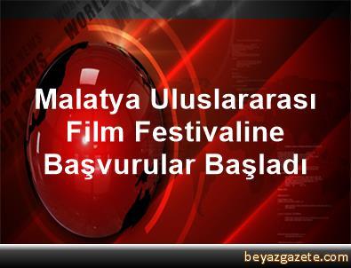 Malatya Uluslararası Film Festivaline Başvurular Başladı