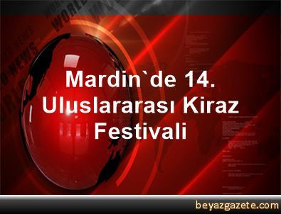 Mardin'de 14. Uluslararası Kiraz Festivali