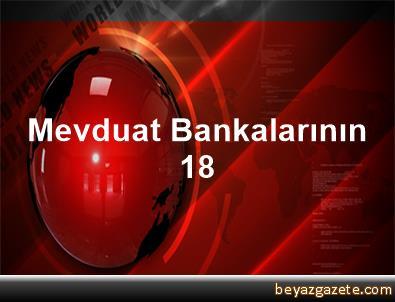 Mevduat Bankalarının 18